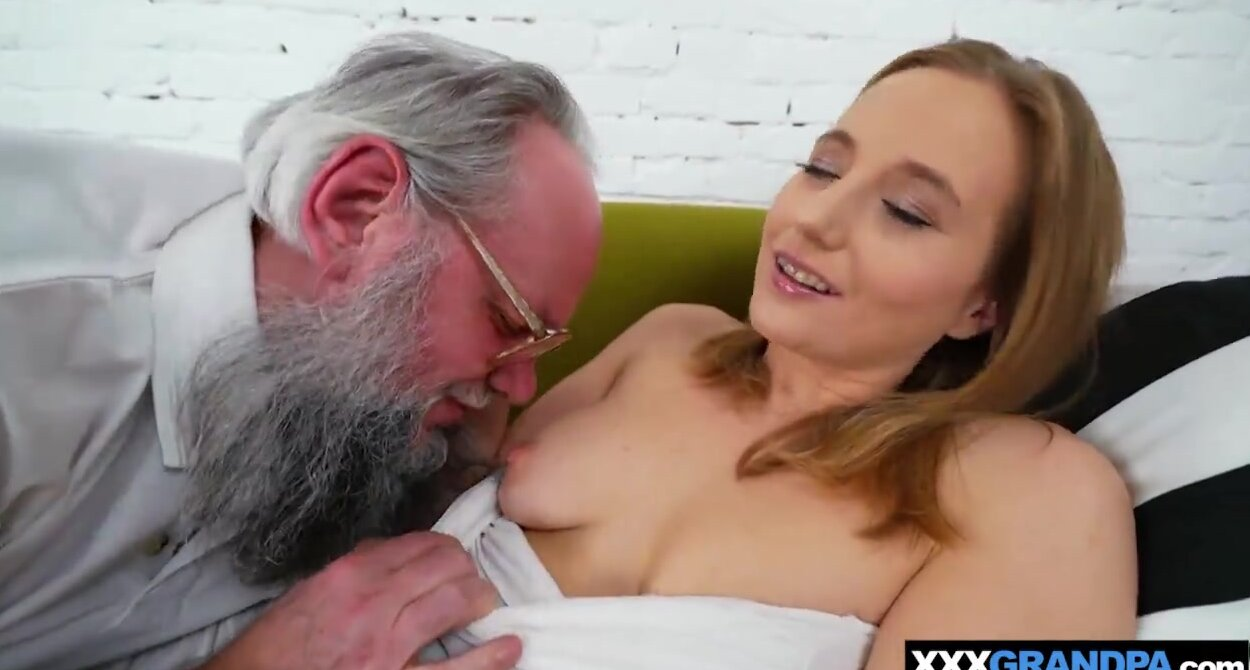Brazzers blond girl gets fucked by old guy Old Bearded Man Fucks Horny Teen Blonde Free Porn Sex Videos Xxx Movies